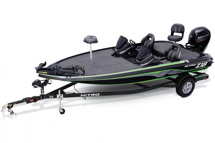 2017 nitro Z18 bass boats