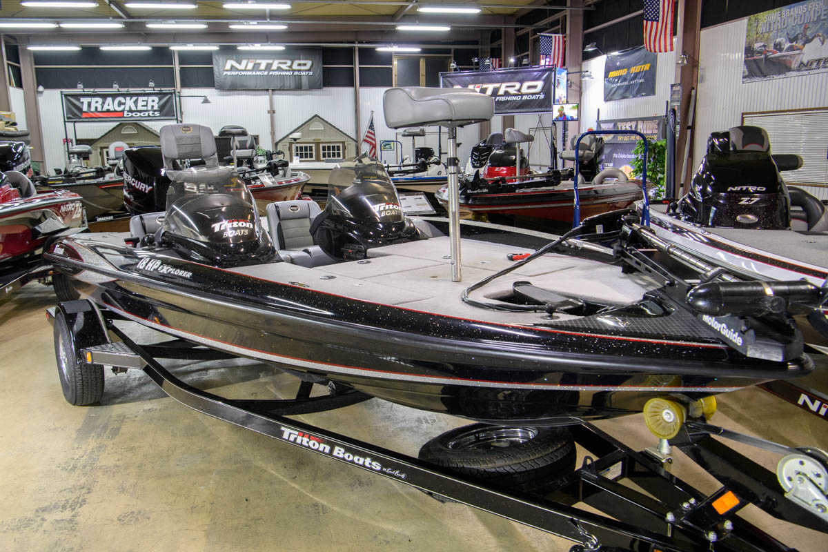 2009 TRITON 18 EXP HP MERCURY150 OPTIMAX SOLD OUT! | バスボート販売|ALPHA ...