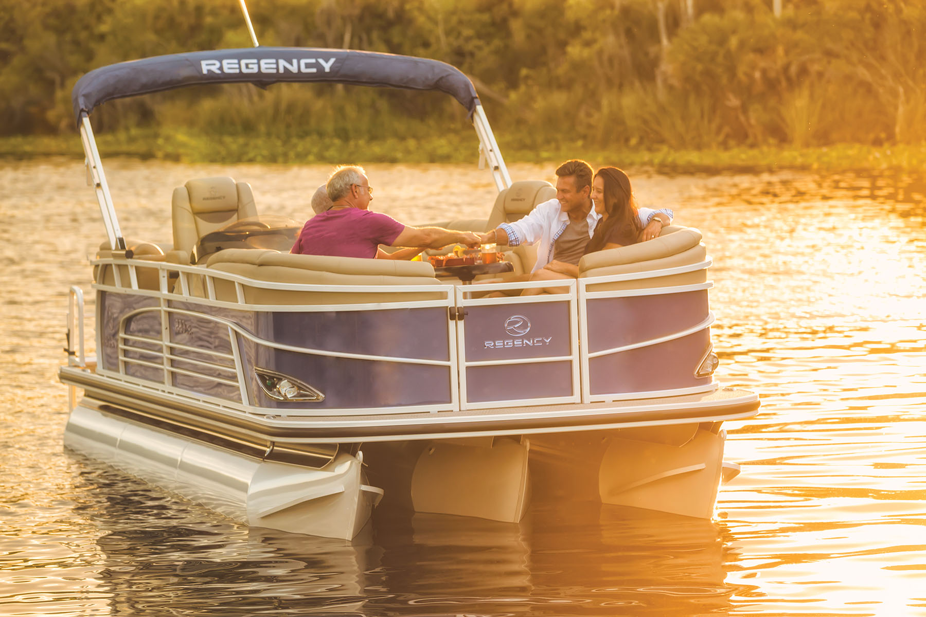 2019 regency pontoon boat