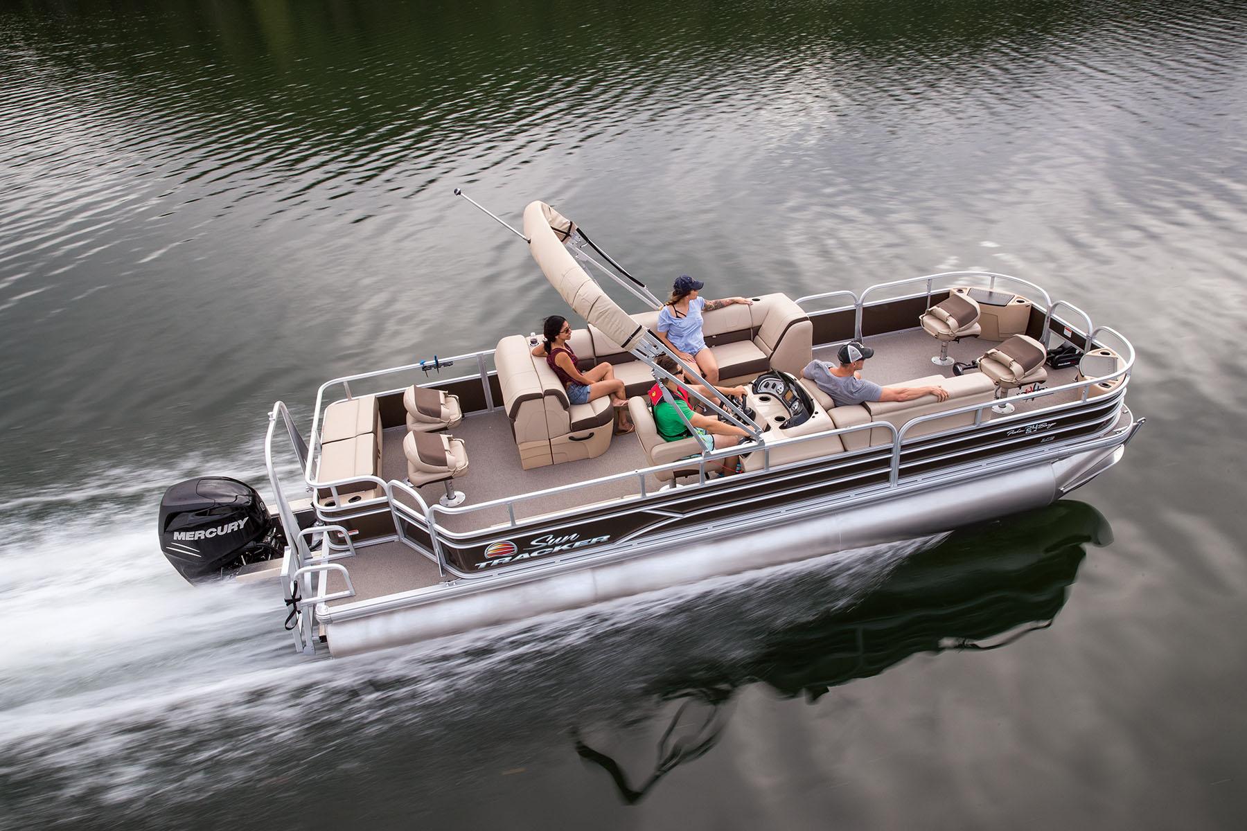 ポンツーンボート FISHING BARGE 24 DLX LP3