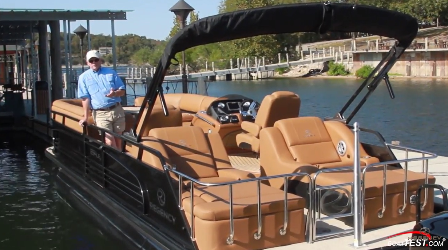 boattestvideo regency 250LE3sport