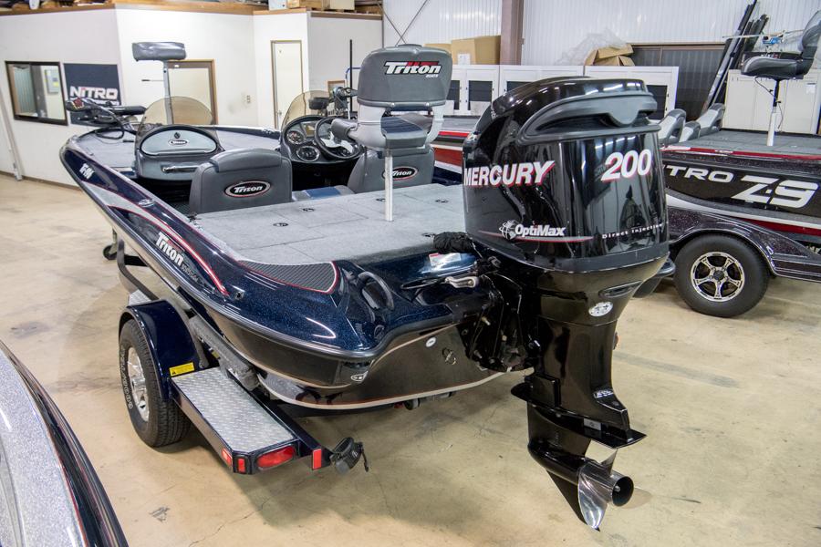 2008 TRTION TR196 MERCURY 200 OPTIMAX [ 良質中古艇 ] | バスボート販売 ...