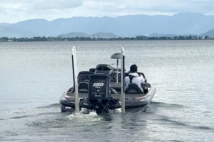 バスボート 中古 琵琶湖