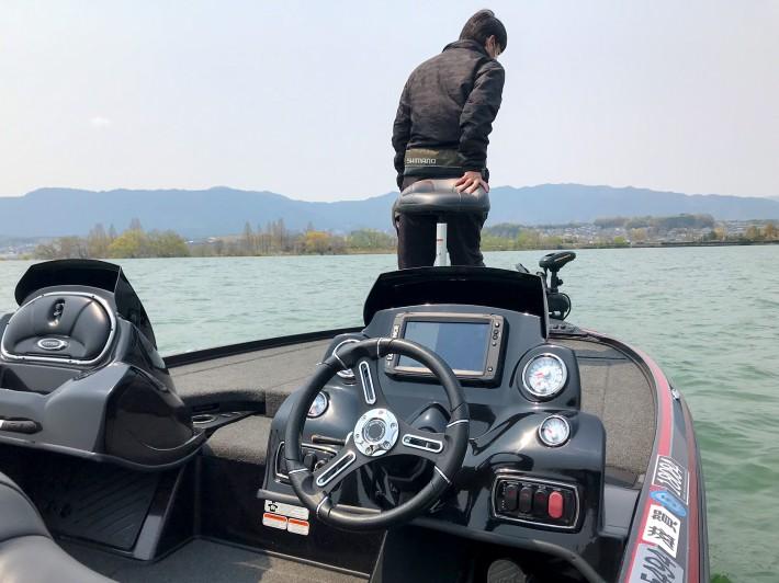 バスボート 琵琶湖