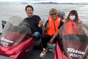トライトン ボート 琵琶湖